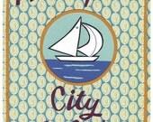 Minneapolis City of Lakes Print