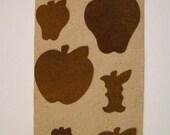rustic tin apple embellishments