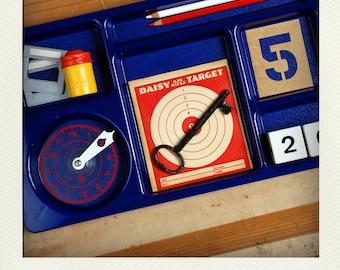 SALE 25% - Desk Tidy Organizer Tray - Royal Blue