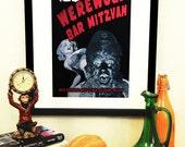 Werewolf Bar Mitzvah Art Print -- 11x17