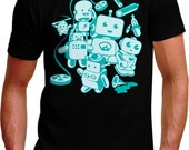 Little Robots TShirt - Mens and Ladies Sizes Small-3XL Available