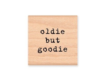 OLDIE BUT GOODIE - Wood Mounted Rubber Stamp (mcrs 07-06)