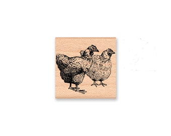 Two Old Hens-Vintage Collection