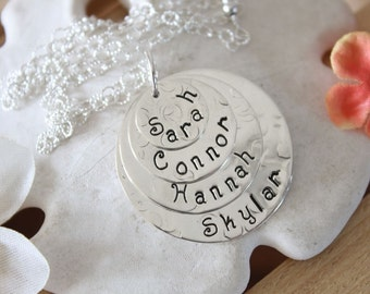 Mom Necklace, Personalized Mom Necklace, Personalized Necklace, Grandma Necklace