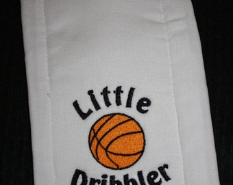 Embroidered Burp Cloth for Baby- Little Dribbler