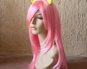 Fluttershy costume cosplay wig - soft pink wig / friendship is magic / my little pony cosplay / pegasus