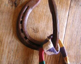 Upcycled Rustic Horse Shoe Wall Hook II