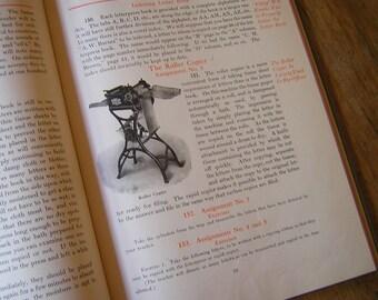 Antique Stenographer's Instruction Book - Vintage Books