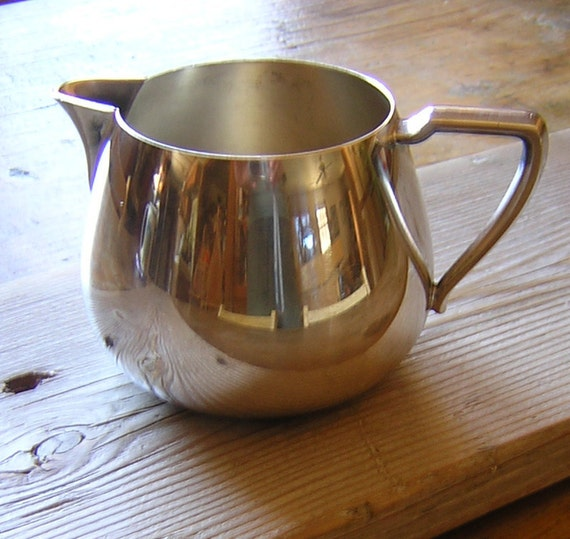 Wm A Rogers Silver Plate Marks: Vintage Wm Rogers Silverplate Creamer Or Mini Pitcher