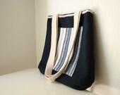 SAMPLE SALE Navy Blue Handbag