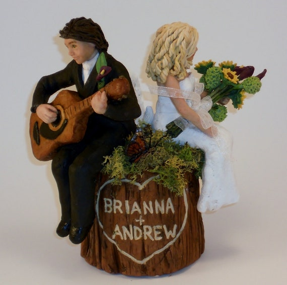 wedding cake topper man with guitar unavailable listing on etsy 26352