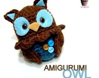 Amigurumi Owl - PDF Pattern