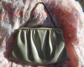 Clutch bag Vegan Oatmeal handbag purse Budget Christmas gift