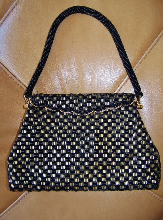 Beaded Bag 50s 60s Formal Evening style