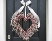 Valentine Wreath - The Friendship Wreath - Door Wreaths