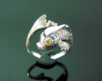 The Incredible Mr. Limpet - Sterling Silver Fish Ring