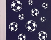 Soccer Ball decals, vinyl wall art decals sport stickers decal set