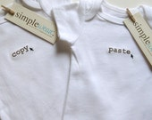 copy... paste baby onesie for twins