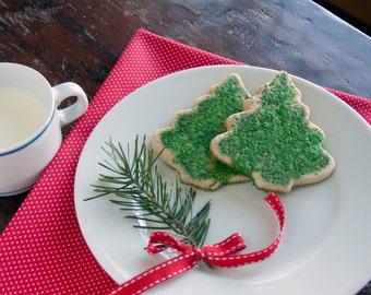 Maple Walnut Cookie Trees- 3 dozen fresh baked holiday cookies