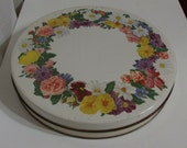 Wreath of Flowers Tin