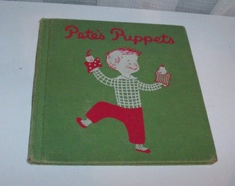 1952 Pete's Puppets Children's Book