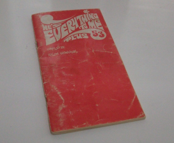 1969 He's Everything To Me Song Book