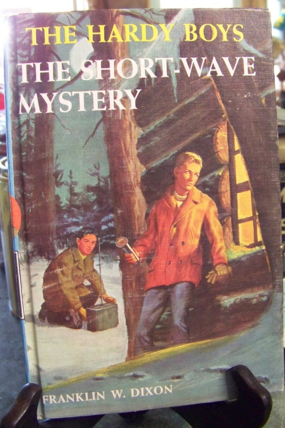 Vintage The Hardy Boys  The Short-Wave Mystery Hardback Book...Franklin W Dixon...Series Book...Reading Story Book