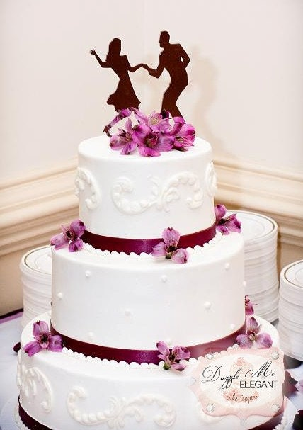 Swing Dancing Cake Topper Dance Cake Topper Wedding Cake