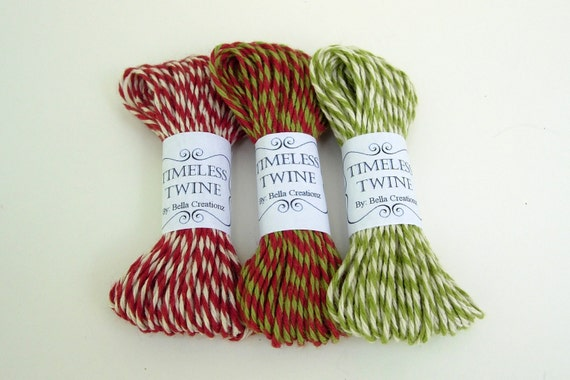 Christmas Bakers Twine Party Pack by Timeless Twine