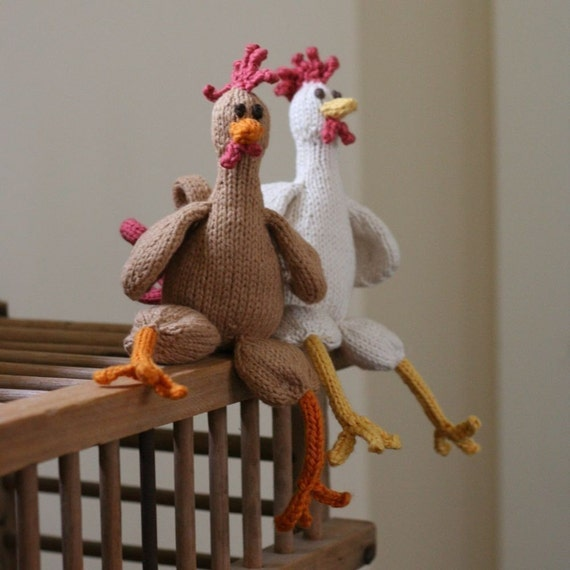 Chicken Chicken Chicken - PDF Knitting Pattern