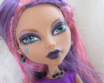 Dark Star Doll Jewelry Set for Petite Slimline High Fashion Dolls