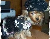 XXS Gothic Toy Dog Dress