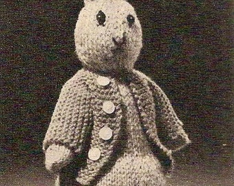 Knitting Pattern For Peter Rabbit Jumper : Peter rabbit pattern Etsy