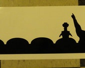 HUGE 34 inch Mystery Science Theater 3000 car decal MST3K