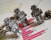 Robot Cufflinks & Robot Tie Tack SET OF 3 Original Design By Cosmic Firefly Father's Day Gifts Men's Gifts For Men Dads