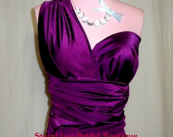 Merlot Bridesmaids Infinity Dress...One Dress/Infinite Styles...67 Colors Available
