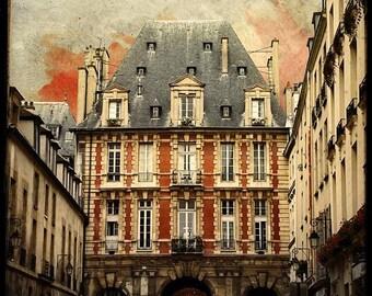 Place des Vosges - Fine Art Print - From Paris With Love - Romantic City - parisian Collection - TFTeam