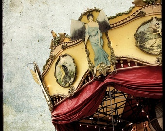 Le Manege 04 - Fine Art Print - French Carousel photograph - For Kids Room - Etsy Wall Art - TFTeam