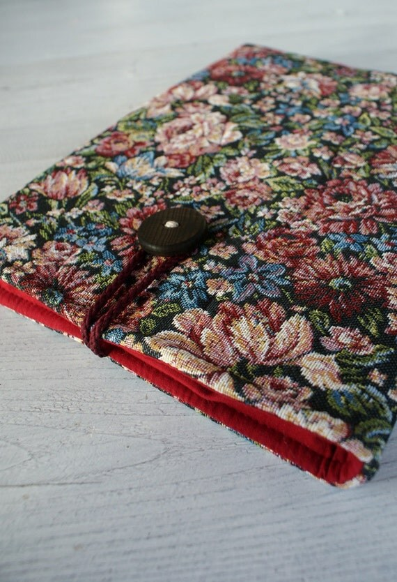 Laptop Sleeve  Case Cover for 13 inch Macbook/ tapestry/ padded