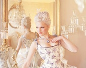 Marie Antoinette Hybride Corset Stays Custom Made your choice of fabrics JANUARY Sale