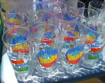 Pepsi You Got the Right One, Baby, Uh Huh - Dozen Beverage Glasses from an EtsyMom