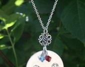 Custom Sports Necklaces - ALL-STAR, Custom Sports Jewelry, Personalized Sports Jewelry, Sports Mom Jewelry, Player Jewelry, Team Jewelry