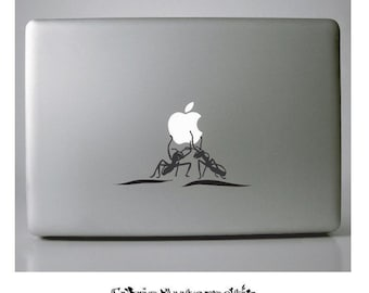 Carried Away by Ants Macbook Vinyl Decal