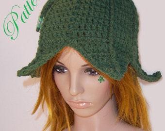 """Leafy Fairy Hat """"""""""""P A T T E R N"""""""""""""""