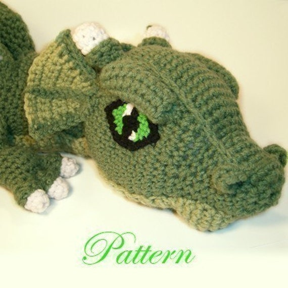 Dragon Wings Knitting Pattern : Cosmo the Dragon P A T T E R