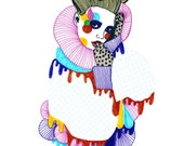 SALE Fashion Illustration Art Reproduction Print
