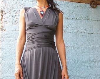 SALE -Summer dress, Wrap dress, Convertible summer Dress, 2 way dress, Maxi dress, Unique dress, designed dress, Party dress
