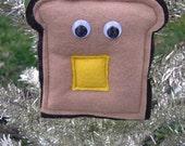 Mr. Toast Ornament