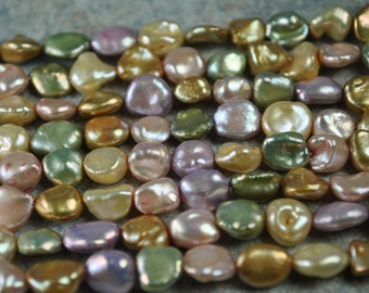 Pastel Freshwater Pearl Mixed Strand