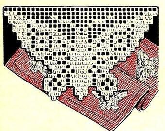Filet Butterfly Crochet Pattern 723113